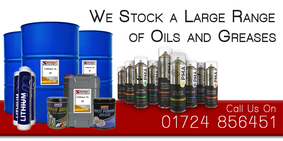 Hydraulic or Pneumatic Oils and Greases